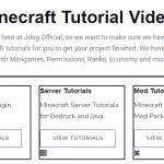 jdog Minecraft tutorials
